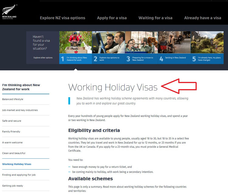 how to apply for work visa for new zealand