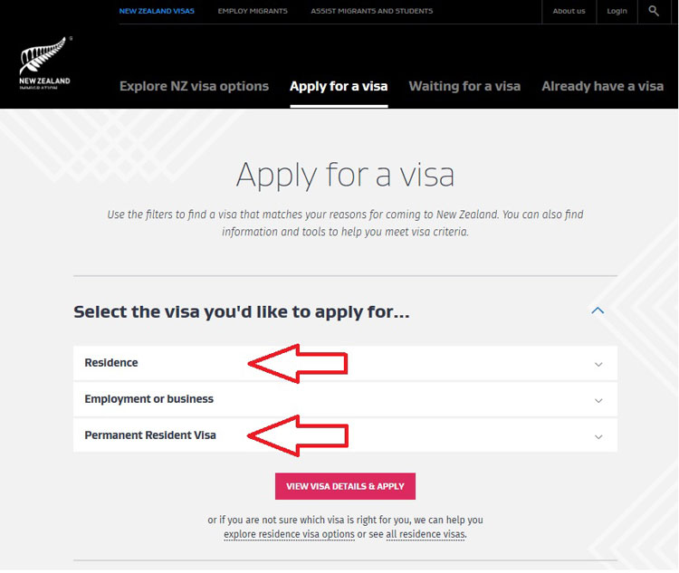 how to apply for New Zealand residency