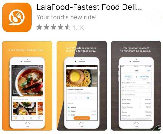 lalafood delivery apps philippines