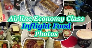 airline meal economy class pictures