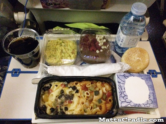 klm airline meal for economy flight