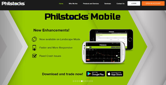 philstocks online stock broker philippines