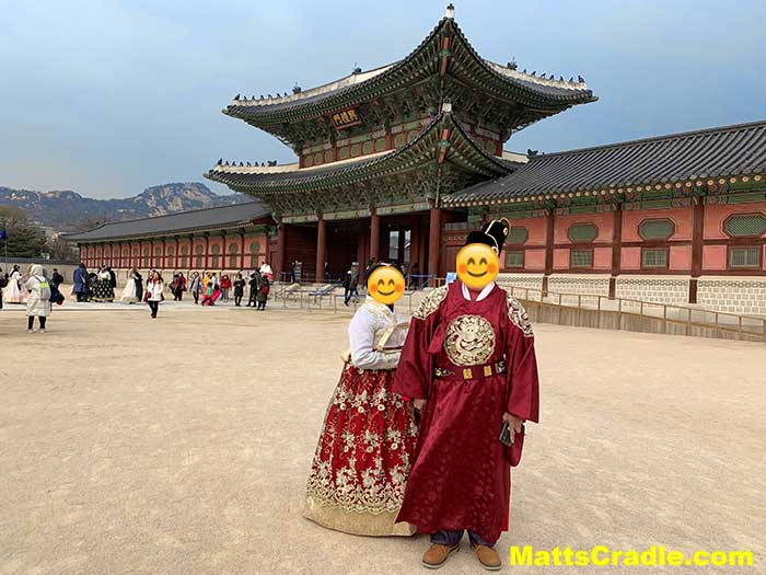 gyeongbokgung palace hanok photo