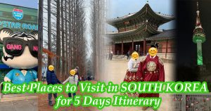 south korea soul itinerary
