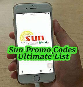 sun promo for internet