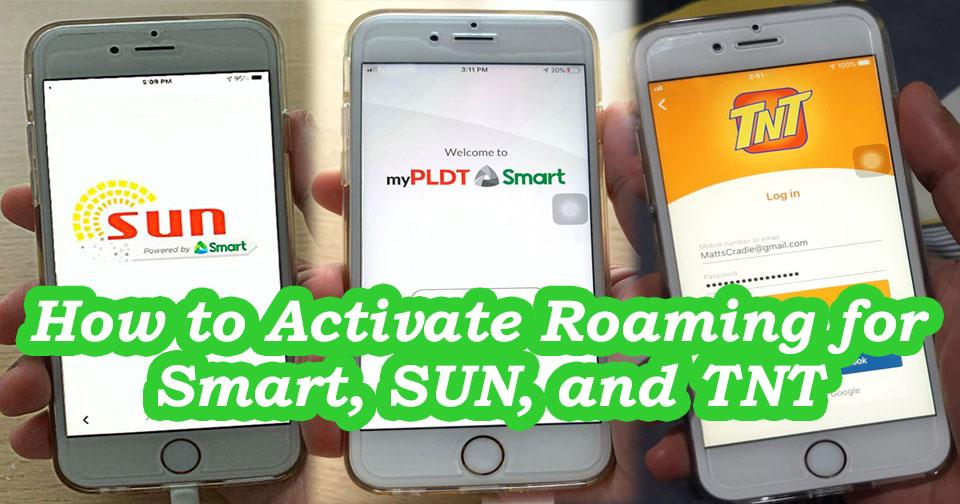 smart sun tnt roaming activation