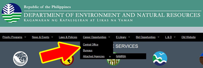 department of environment jobs philippine government