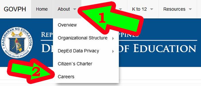 department of education careers