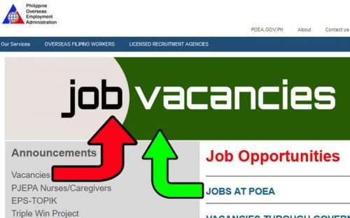 government hiring poea