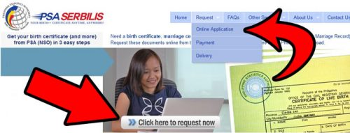 how to get psa birth certificate online steps