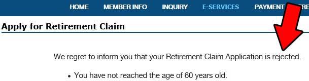 retirement-claim-result