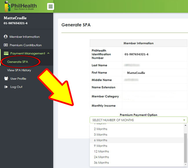 pay your philhealth contribution online