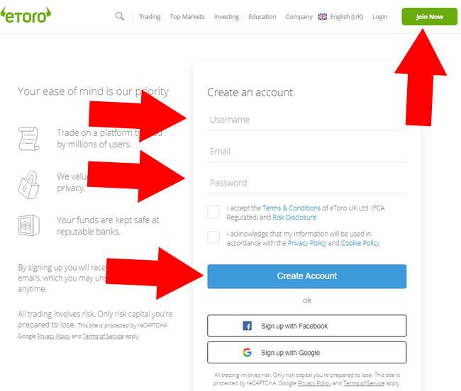 how to open etoro account philippines