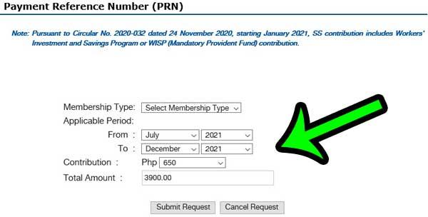 generate-prn-at-my.sss-website