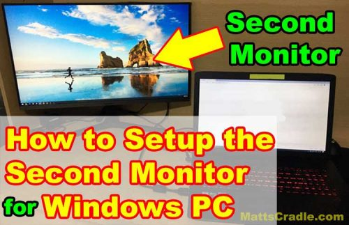 how-to-add-second-monitor-in-windows-pc-laptop