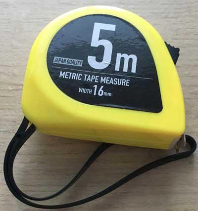 metric tape measure photo