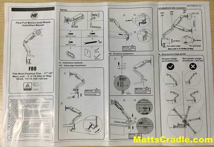 north bayou f80 user manual photo