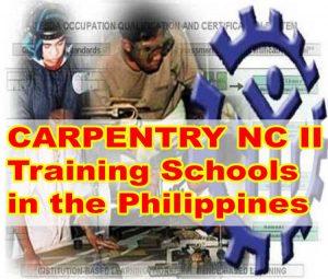 carpentry training philippines schools
