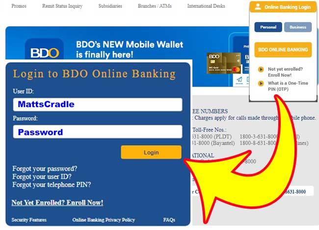 buy prepaid cellphone load bdo online