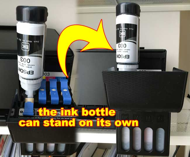 step 5 refill the epson ink